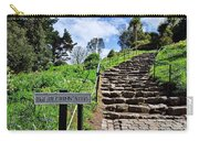 The Pilgrims' Steps Carry-all Pouch