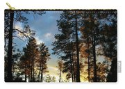 The Pines At Sunset Carry-all Pouch