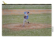 The Pitcher Digital Art Carry-all Pouch by Thomas Woolworth