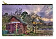 The Play House At Sunset Near Lake Oconee. Carry-all Pouch
