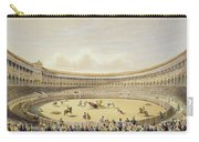 The Plaza De Toros Of Madrid, 1865 Carry-all Pouch