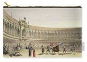 The Plaza Of Seville, 1865 Carry-all Pouch