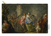 The Pleasures Of The Seasons     Spring Carry-all Pouch by Johann Georg Platzer