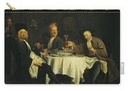 The Poet Alexis Piron 1689-1773 At The Table With His Friends, Jean Joseph Vade 1720-57 And Charles Carry-all Pouch
