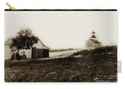 The Point Pinos Lighthouse Pacific Grove California Circa 1895 Carry-all Pouch