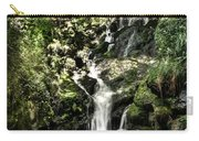 The Pond And The Forest Waterfall Carry-all Pouch