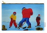 The Pond Hockey Game Carry-all Pouch