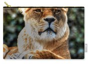 The Pondering Lioness Carry-all Pouch