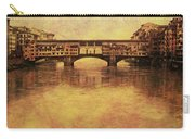 The Ponte Vecchio In Florence Italy Carry-all Pouch