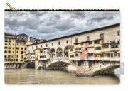 The Ponte Vecchio In Florence Carry-all Pouch