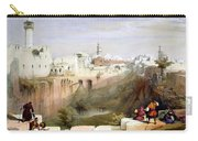 The Pool  Of Bethesda Jerusalem Carry-all Pouch