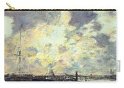 The Port Carry-all Pouch by Eugene Louis Boudin