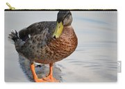 The Posing Duck Carry-all Pouch