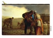 The Potato Harvest Carry-all Pouch by Jean Francois Millet