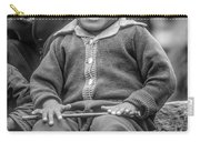 The Power Of Smiles Bw Carry-all Pouch
