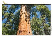 The President - Very Large And Old Sequoia Tree At Sequoia National Park. Carry-all Pouch