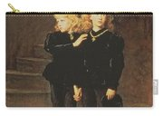 The Princes Edward And Richard Carry-all Pouch by Sir John Everett Millais