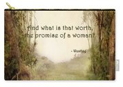 The Princess Bride - Promise Of A Woman Carry-all Pouch