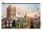 The Procession Of The Taziya, From The Carry-all Pouch