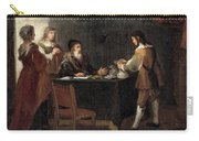 The Prodigal Son Receiving His Portion Of The Inheritance Carry-all Pouch