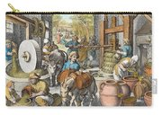 The Production Of Olive Oil, Plate 13 Carry-all Pouch