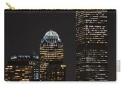 The Prudential Lit Up In Red White And Blue Carry-all Pouch