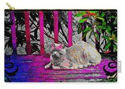 The Psychedelic Cat Carry-all Pouch