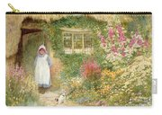 The Puppy Carry-all Pouch by Arthur Claude Strachan