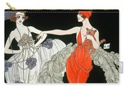 The Purchase  Carry-all Pouch by Georges Barbier