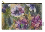 The Purple Bouquet Carry-all Pouch