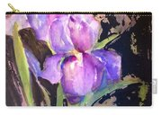 The Purple Iris Carry-all Pouch