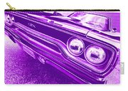 The Purple People Eater - 1970 Plymouth Gtx Carry-all Pouch