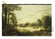 The Quiet Valley Carry-all Pouch by Jasper Francis Cropsey