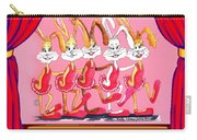 The Rabbettes Carry-all Pouch