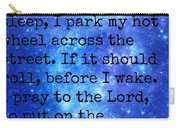 The Race Car Prayer Carry-all Pouch