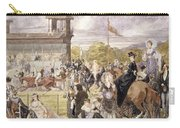 The Races At Longchamp In 1874 Carry-all Pouch