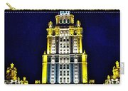 The Raddison-stalin's Wedding Cake Architecture-in Moscow-russia Carry-all Pouch