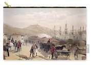 The Railway At Balaklava, Plate Carry-all Pouch