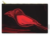 The Red Bird Carry-all Pouch
