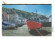 The Red Boat Polperro Corwall Carry-all Pouch