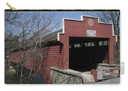 The Red Bridge Or Wertz's Cover Bridge Carry-all Pouch