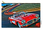 The Red Corvette Carry-all Pouch