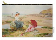 The Red Parasol Carry-all Pouch by Alfred Glendening Jr
