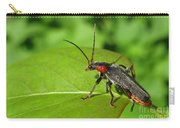 The Rednecked Bug- Close Up Carry-all Pouch