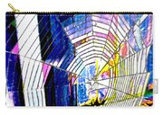 The Refracted Cobweb Carry-all Pouch