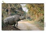The Rhino At Kaziranga Carry-all Pouch