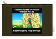 The Rice Queen  And The Corn Queen Cd Demo From The Wheat-shire Collection Carry-all Pouch