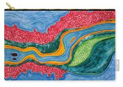 The Riffles Original Painting Carry-all Pouch