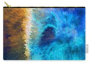 The Right Direction - Abstract Art By Sharon Cummings Carry-all Pouch