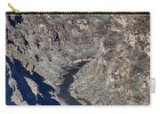 The Rio Grande River-arizona  Carry-all Pouch